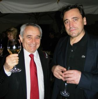 Esxence Co-Founder Silvio Levi and George Ledes, President of Beauty