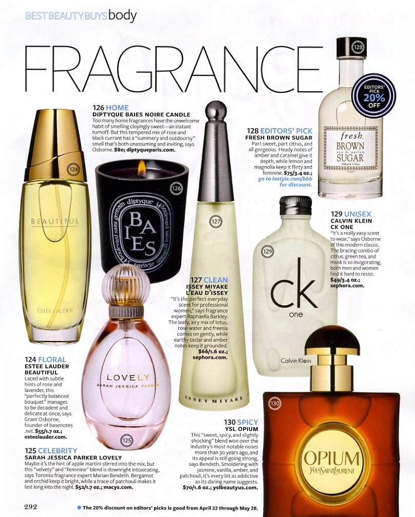article with regards to perfume