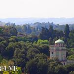 Boboli Gardens as seen from the Tower of the Palazzo Vecchio
